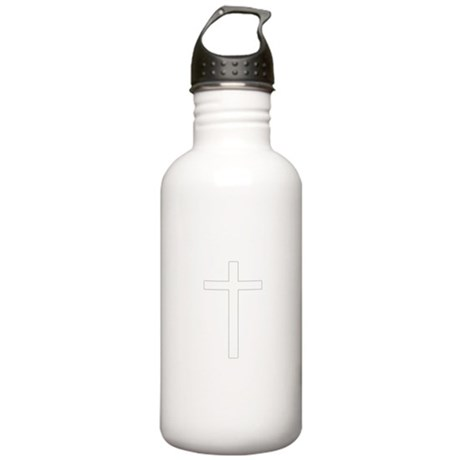 Simple Cross Stainless Water Bottle 1.0L