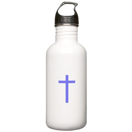 Purple Cross Stainless Water Bottle 1.0L
