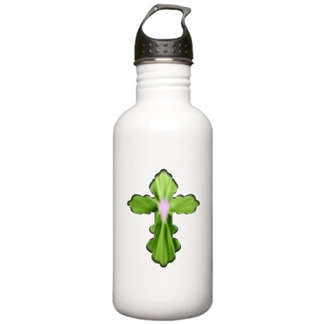 Holy Spirit Cross Stainless Water Bottle 1.0L