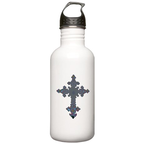 Jewel Cross Stainless Water Bottle 1.0L