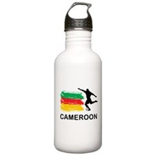Stylish Cameroon Football Water Bottle