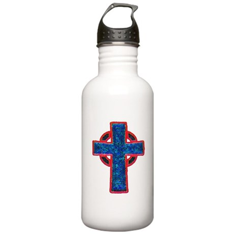 Celtic Cross Stainless Water Bottle 1.0L