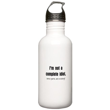 Complete Idiot Stainless Water Bottle 1.0L