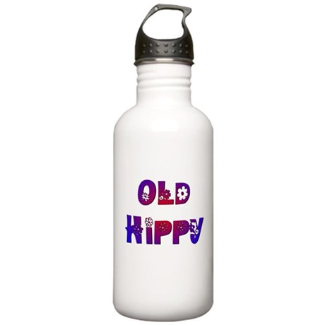 Old Hippy Stainless Water Bottle 1.0L