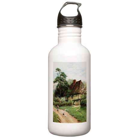 English Country Cottage Stainless Water Bottle 1.0