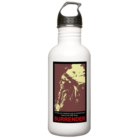 Anti-Gun Control Stainless Water Bottle 1.0L