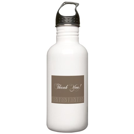 Thank You Roses Stainless Water Bottle 1.0L