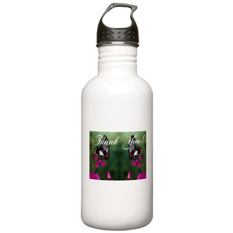 Thank You Butterflies Stainless Water Bottle 1.0L