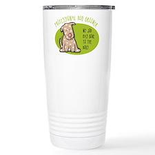 Funny Dog Groomer Travel Mug