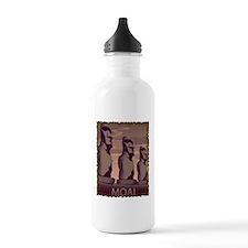 Easter Island Moai Sports Water Bottle