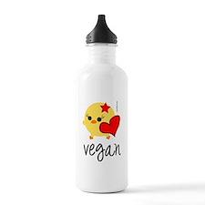 Vegan Love Sports Water Bottle