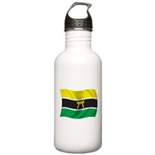 Wavy Ashanti Flag Water Bottle