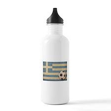 Vintage Greece Football Sports Water Bottle