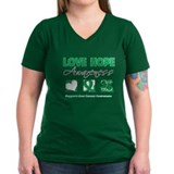 Liver Cancer Love Hope Shirt