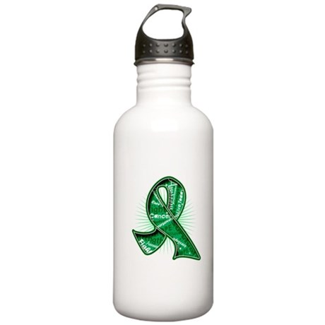 Liver Cancer Slogans Stainless Water Bottle 1.0L