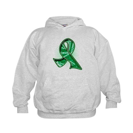 Liver Cancer Slogans Kids Hoodie