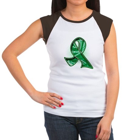 Liver Cancer Slogans Women's Cap Sleeve T-Shirt