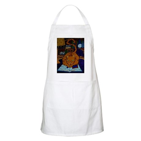 The Wizard's Cat Apron