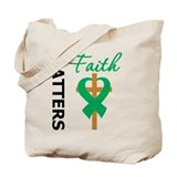 Liver Cancer FaithMatters Tote Bag