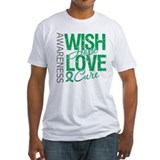 Liver Cancer WishHopeCure Shirt