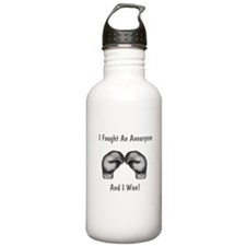 I Fought An Aneurysm And I Wo Water Bottle