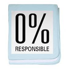 0% Responsible baby blanket