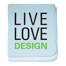 Live Love Design baby blanket