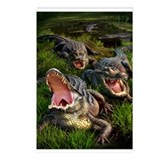 Alligators Postcards (Package of 8)