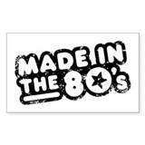 Made In The 80's Decal