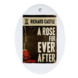Retro Castle Rose For Everafter Ornament (Oval)
