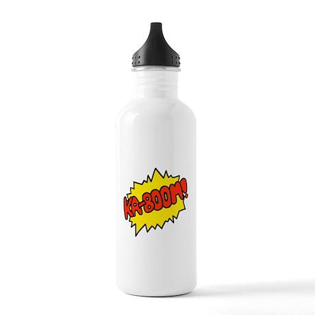 'Ka-Boom! Stainless Water Bottle 1.0L