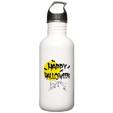 'Happy Halloween' Stainless Water Bottle 1.0L