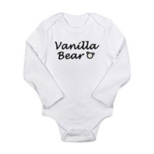 'Vanilla Bear' Long Sleeve Infant Bodysuit
