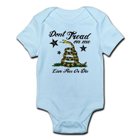 Live Free or Die Infant Bodysuit