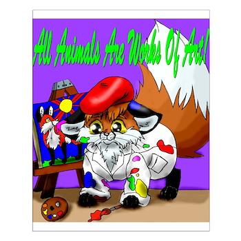 Artsy Fox