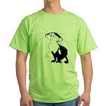 Black Fox Green T-Shirt