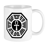Dharma Black Ankh Coffee Mug