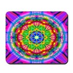 Bright Kaleidoscope Mousepad
