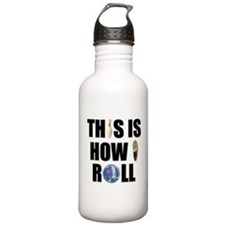 How I Roll Bowling Water Bottle