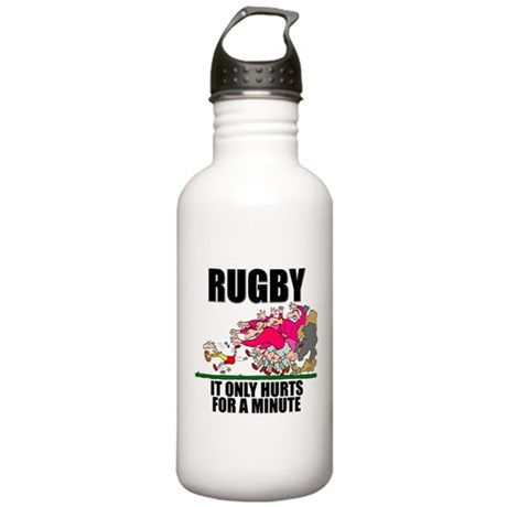 It Only Hurts Stainless Water Bottle 1.0L