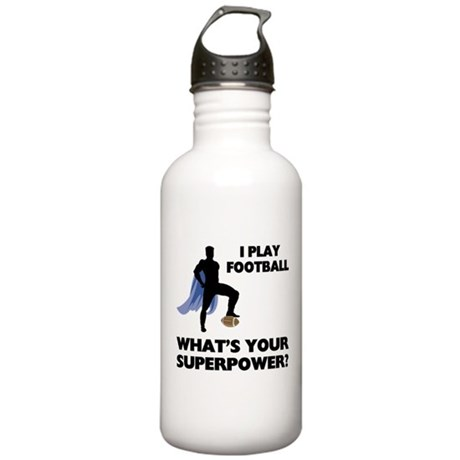 Football Superhero Stainless Water Bottle 1.0L