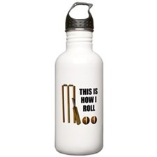 This Is How I Roll Cricket Water Bottle