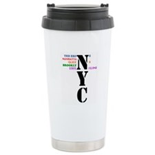 NYC Big Apple All-Stars Ceramic Travel Mug
