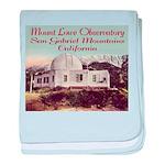 Mount Lowe Observatory baby blanket
