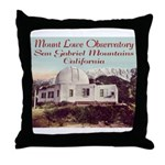 Mount Lowe Observatory Throw Pillow