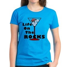 On Rocks Martini Tee