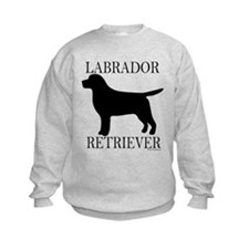 Black Labrador Retriever Sweatshirt