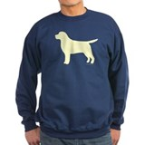 Yellow Lab Silhouette Sweatshirt