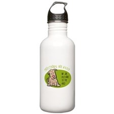 Funny Dog Walker Water Bottle