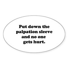 Palpation Sleeve Decal